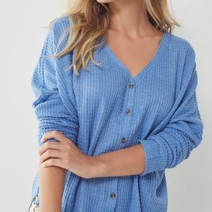 urban outfitters button up sweater